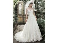 BRAND NEW unaltered maggie sottero wedding dress