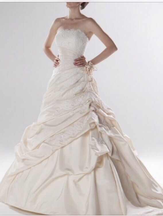 Ellis Bridal, size 14 Princess and the frog wedding dress | in ...