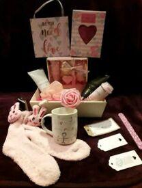 Thank U Mummy Birthday Mothers Day Large Gift Hamper Prosecco Cream Tag