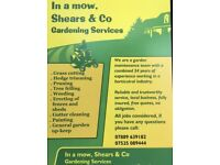 In a mow, Shears & Co - Gardening Services