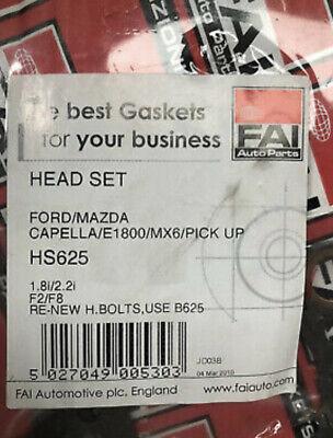 Mazda 626 929 2.2 Head Gasket Set 1987-1992