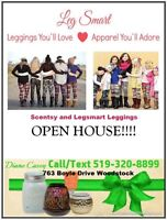 Scentsy and Leggings Drop In Christmas Open House