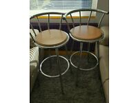Pair of breakfast/kitchen Bar stools