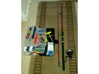 7ft fishing rod fish box lures rigs
