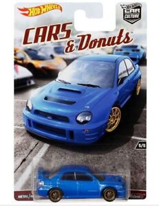 Hot Wheels Cars & Donuts - Subaru WRX