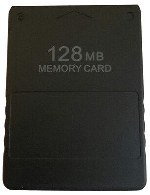 PS2 Memory Card 128 MB Speicherkarte Spielstände speichern für Sony Playstation2