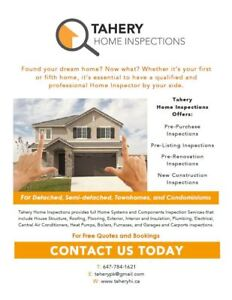 Tahery Home Inspections