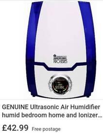 GENUINE Ultrasonic Air Humidifier humid