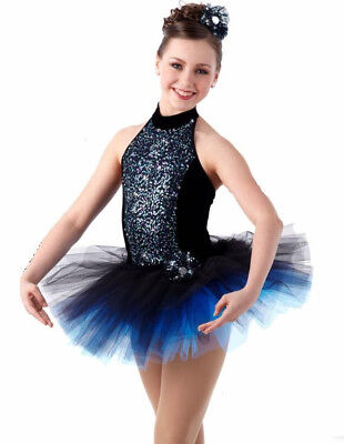 GROUP LOT OF 4 Child Small PIZAZZ Ballet Tutu Costume Dance Sugar Sequin Glitz - Costumes Group Of 4