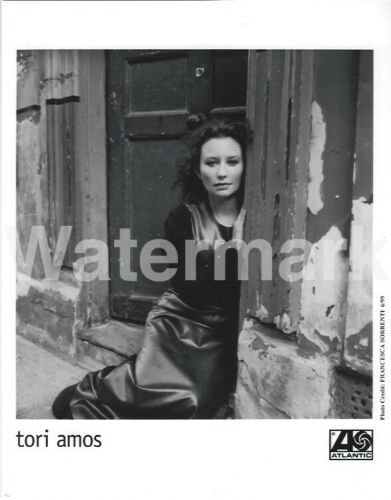 Tori Amos Promo Press Photo 8x10 Vocalist Singer Piano