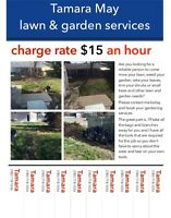 Lawn and garden cleaning
