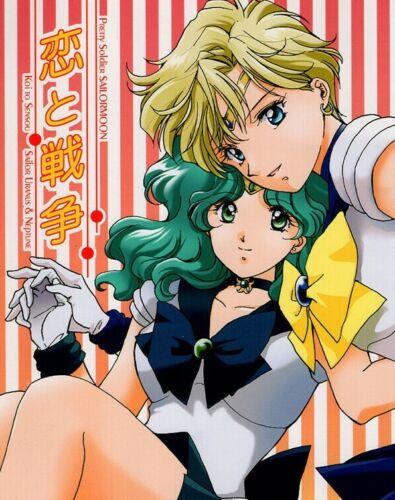 Sailor Moon Doujinshi Comic Uranus x Neptune Haruka Michiru Michelle Love & War