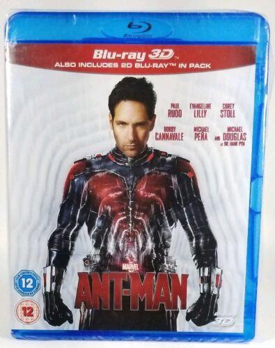 Ant-Man (Blu-ray 3D+ 2D, 2-Disc Set, Marvel, UK IMPORT) REGION FREE