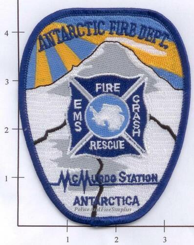 Antarctica - McMurdo Fire Dept Patch v1