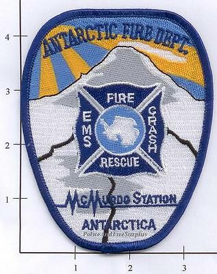 Antarctica - Antarctica McMurdo Station Fire Dept Patch