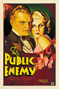 The-Public-Enemy-1931-Jean-Harlow-James-Cagney-2-movie-poster-24x36-inches