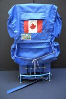 Clearing camping equipment, lanterns, backpacks, cooler