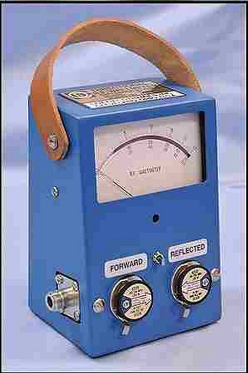 Coaxial Dynamics 81021 RF Wattmeter Bird 43 Compatible Dual Socket
