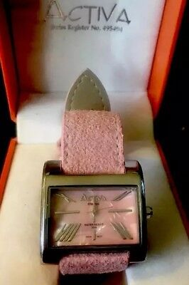 Activa Pink Watch In Original Box
