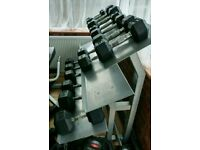 Dumbell rack gym weights RRP £200