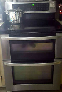 LG DOuble Oven stove (Blue interior)