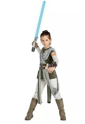STAR WARS DISNEY STORE Rey Girls' Costume - The Last Jedi - Galaxy's Edge