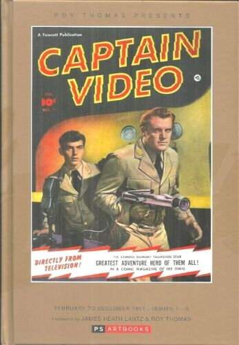 CAPTAIN VIDEO - COMPLETE 1951 REPRINTS - GOLDEN AGE SCIENCE FICTION CLASSIC ART!