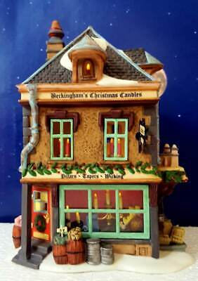 DEPT 56 Dickens Village BECKINGHAM'S CHRISTMAS CANDLES!   Gorgeous Set!  ()