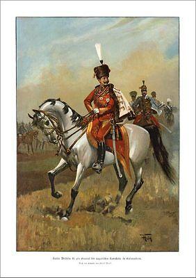 KAISER WILHELM II. ALS GENERAL DREIBUND ÖSTERREICH UNGARN ITALIEN 66 Faksimile