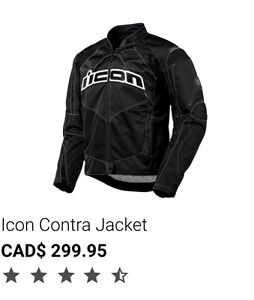ICON Alliance jacket size M