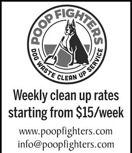 Poop Fighters-- Dog Waste Clean Up Service London Ontario image 5