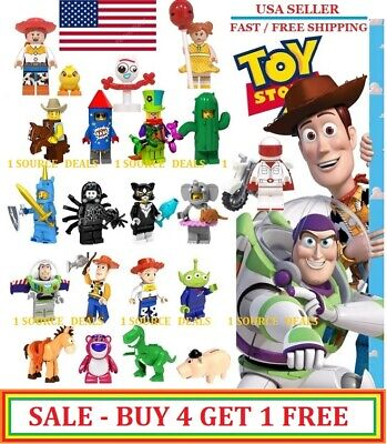 Toy Story 4 Minifigures - Brand New Pixar - Best Deal - Kid's Play - Have Fun
