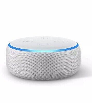 Amazon Echo Dot 3rd Generation w/ Alexa Voice Media Device - Sandstone ( in🤚🏻)