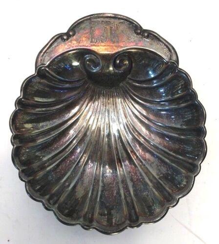 ATQ Silver-plated Dish Plate Shell Shape