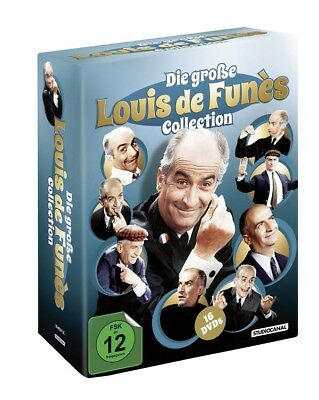 Die große Louis de Funes Collection NEU OVP 16 DVD Box Funès