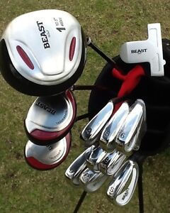 Golf clubs RH men's Used Once Perfect for Beginner Alphington Darebin Area Preview