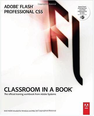 Adobe Flash Cs5 Classroom In A Book 1St Edition By Adobe Creative Team