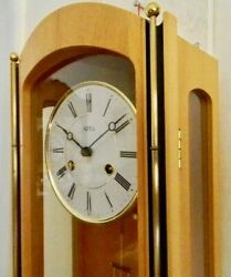 ****GERMAN KEY-WOUND DELUXE  CHIME WALL CLOCK****