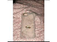 iPhone 6 fluffy case
