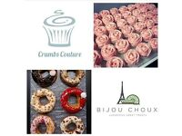 Baker / Decorator / Pastry chef needed for busy kitchen producing cakes, cupcakes & choux products