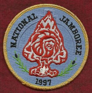 VINTAGE-BOY-SCOUT-1997-NATIONAL-JAMBOREE-ORDER-OF-THE-ARROW-RENDEZVOUS-PATCH