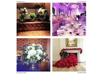 Looking for a skilled florist to join our team and help with london corporate displays and events.