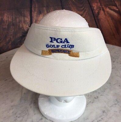 Golf Terry Visor - PGA Golf Club Reserve USA-Made White Visor with Terry Headband Imperial Headwear