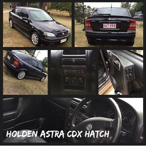 2004 Holden Astra CDX HATCH LOW KLMS Biarra Somerset Area Preview