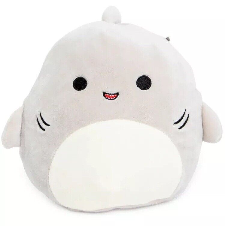 Kellytoy squishmallows 9in spring collection 3-shark