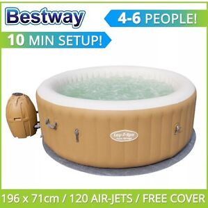 Bestway Lay Z Spa Palm Springs Inflatable Portable Outdoor Spa Flagstaff Hill Morphett Vale Area Preview