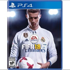 FIFA 18 PlayStation 4 BNIP