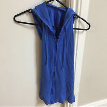 Suprè Blue Hooded Backless Top Belmore Canterbury Area Preview