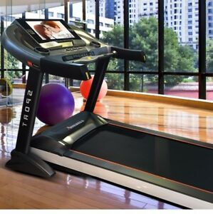 Treadmill Heavy Duty Commercial Touch screen TV Android