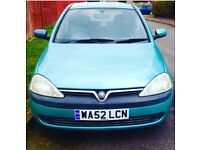 CORSA 10MONTH MOT GOOD REELABLE RUNNER